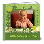 Kohen 1st Year - 8x8 Photo Book (30 pages)