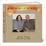 Branson  - 8x8 Photo Book (20 pages)