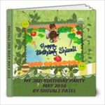 SHIVU 3RD BDAY - 8x8 Photo Book (30 pages)