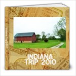 Indiana Book - 8x8 Photo Book (30 pages)