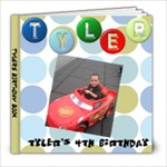 tylers bday - 8x8 Photo Book (30 pages)