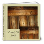 2009 Creed - 8x8 Photo Book (20 pages)