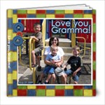 Gramma s Birthday Album - 8x8 Photo Book (39 pages)