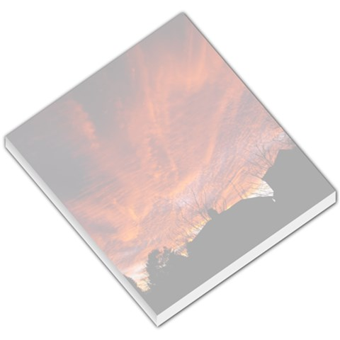 Sunset Over Norton Tower Small Memo Pad By Catvinnat   Small Memo Pads   Nzte6zerc10b   Www Artscow Com