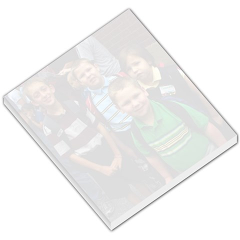 1st Day Of School Notepad By Julie   Small Memo Pads   Htll5bdl2p6d   Www Artscow Com