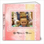 The Making of a Princess - 8x8 Photo Book (20 pages)