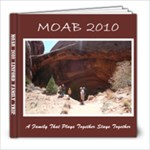 Moab 2010 - 8x8 Photo Book (20 pages)