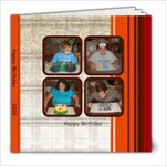 Birthdays - 8x8 Photo Book (20 pages)
