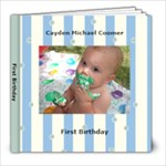 Cayden s First Bday - 8x8 Photo Book (20 pages)