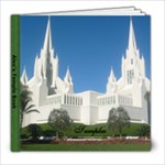 Temple book - 8x8 Photo Book (20 pages)