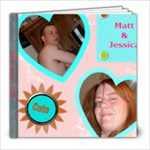 Jessica & Matt - 8x8 Photo Book (20 pages)