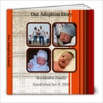 adoption book - 8x8 Photo Book (20 pages)