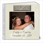 Teddy and Tim wedding - 8x8 Photo Book (20 pages)