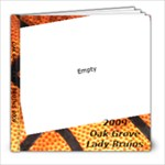 6th grade basketball - 8x8 Photo Book (20 pages)