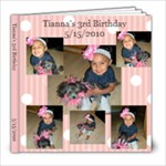 tiannas 3rd bday - 8x8 Photo Book (20 pages)