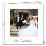 Our Wedding Coffee Table Frameless Album - 12x12 Photo Book (20 pages)