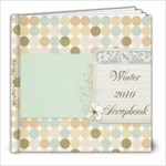 Winter 2010 scrapbook - 8x8 Photo Book (20 pages)
