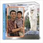 8x8-PhotoBook - Singapore Trip - 8x8 Photo Book (20 pages)