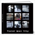 Winter Boat Trip Artbook Copy Me - 12x12 Photo Book (20 pages)