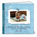 Through the Years of Nicholas - 8x8 Photo Book (30 pages)