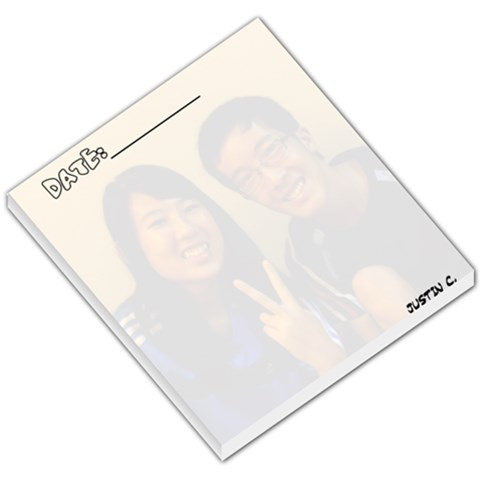 By Justin Chia   Small Memo Pads   De6lbzfugnbr   Www Artscow Com