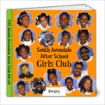 South Avondale Girls Club 2010 - 8x8 Photo Book (20 pages)