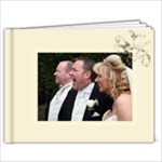 Frameless Wedding Quick Album to Copy - 9x7 Photo Book (20 pages)