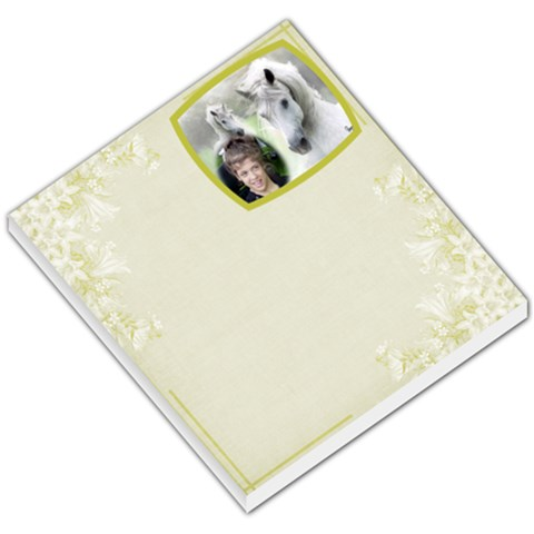 Memo Pad By Julia   Small Memo Pads   H2vlki9ch2w0   Www Artscow Com