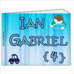 Ian Gabriel - 4 anos - 9x7 Photo Book (20 pages)