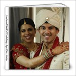 Wedding Album-Rupa - 8x8 Photo Book (20 pages)
