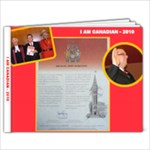 Mike Citizenship Book - 9x7 Photo Book (20 pages)