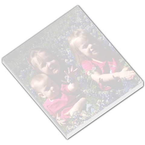 Girls Bluebonnet Memo Pad By Chrystal Richerson   Small Memo Pads   L97mzjxqp4kk   Www Artscow Com
