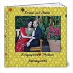 R&S Engagement album - 8x8 Photo Book (20 pages)