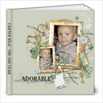 Carter Year2 Book 1 - 8x8 Photo Book (30 pages)