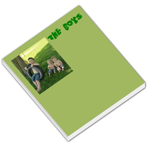 The Boys By Nik Raymond   Small Memo Pads   Vct23o7ixsv8   Www Artscow Com