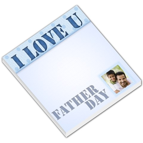 Father Day By Joely   Small Memo Pads   Vz38z55q243j   Www Artscow Com