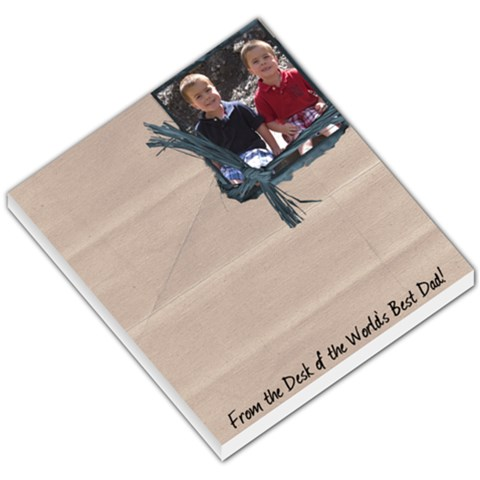 Memo Father s Day By Heidi   Small Memo Pads   Prwdtq22wtw5   Www Artscow Com