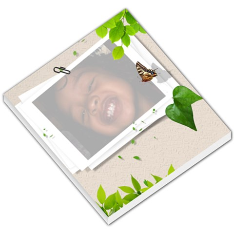 Customized Note Pad By Jude Washington   Small Memo Pads   Ipbrw9nlxssq   Www Artscow Com