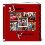 Disney Vacation - 8x8 Photo Book (39 pages)