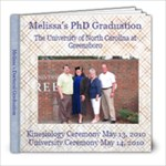 Mel s Graduation Book - 8x8 Photo Book (30 pages)
