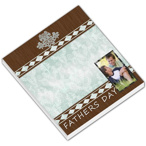 Fathers Gift By Joely   Small Memo Pads   60qwyh58l4nx   Www Artscow Com