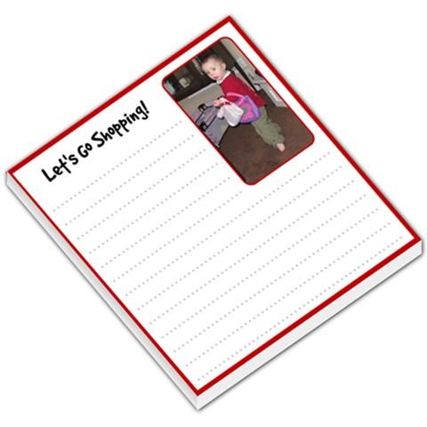 Miranda Shopping List2 By Debra Macv   Small Memo Pads   7i5t05vw8g0v   Www Artscow Com