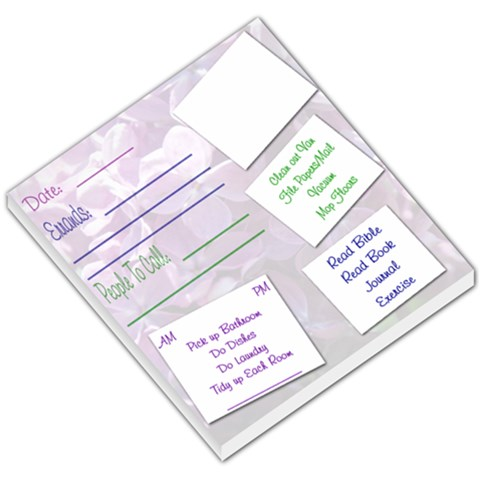 Flowermemo By Sarah Smith   Small Memo Pads   C3xbu1cr6oiq   Www Artscow Com