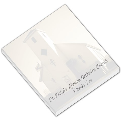 Memo Pad For St  Philips By Chantel Reid Demeter   Small Memo Pads   T8xyk79jey2b   Www Artscow Com
