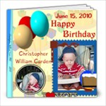 Christopher s 1st B-day - 8x8 Photo Book (20 pages)