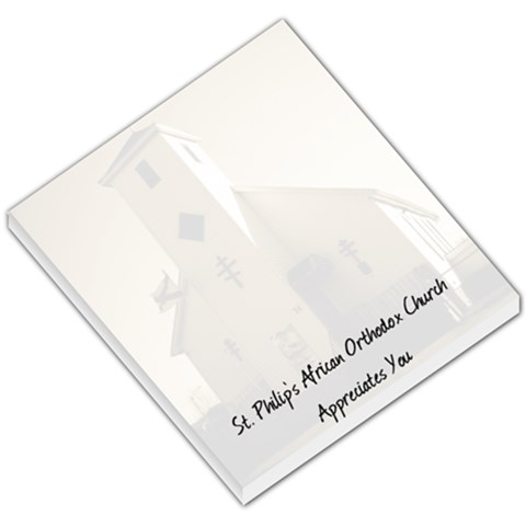 Memo Pad For St  Philips Appreciates You By Chantel Reid Demeter   Small Memo Pads   Ndum26rb1htd   Www Artscow Com