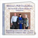 Graduation Book for Mom and Dad - 8x8 Photo Book (30 pages)