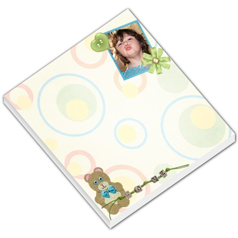 Ryder Memo Pad By Creative Chaos   Small Memo Pads   Uod0fhnc8lhj   Www Artscow Com
