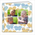 TESSA YR. 1 - 8x8 Photo Book (20 pages)