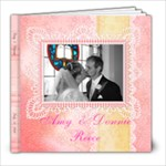 Amy & Donnie - 8x8 Photo Book (20 pages)